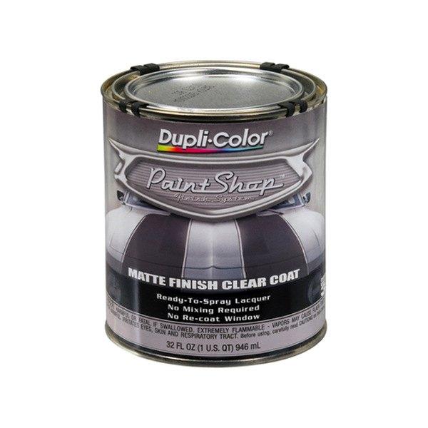 dupli color bsp307 32 oz matte paint shop clear coat. Black Bedroom Furniture Sets. Home Design Ideas