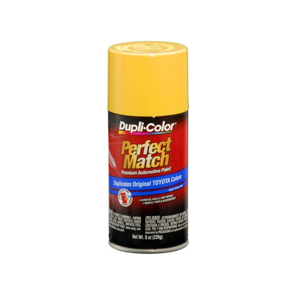 Dupli color bty1517 8 oz yellow perfect match touch for Paint color match