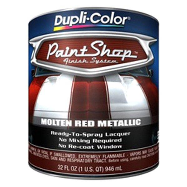 dupli color bsp212 32 oz molten red metallic paint shop base coat. Black Bedroom Furniture Sets. Home Design Ideas