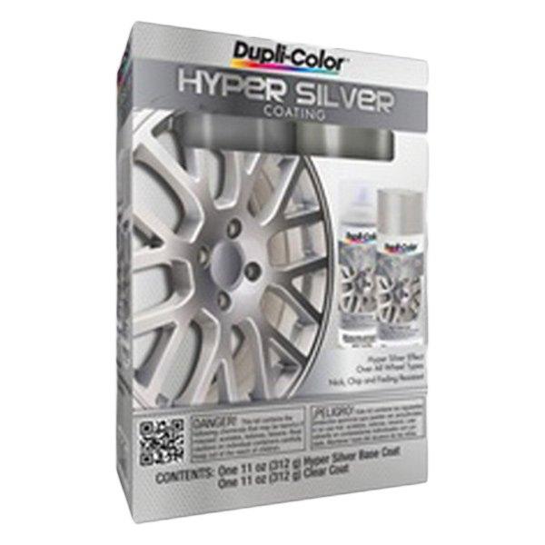 dupli color hyper silver wheel kit ebay. Black Bedroom Furniture Sets. Home Design Ideas