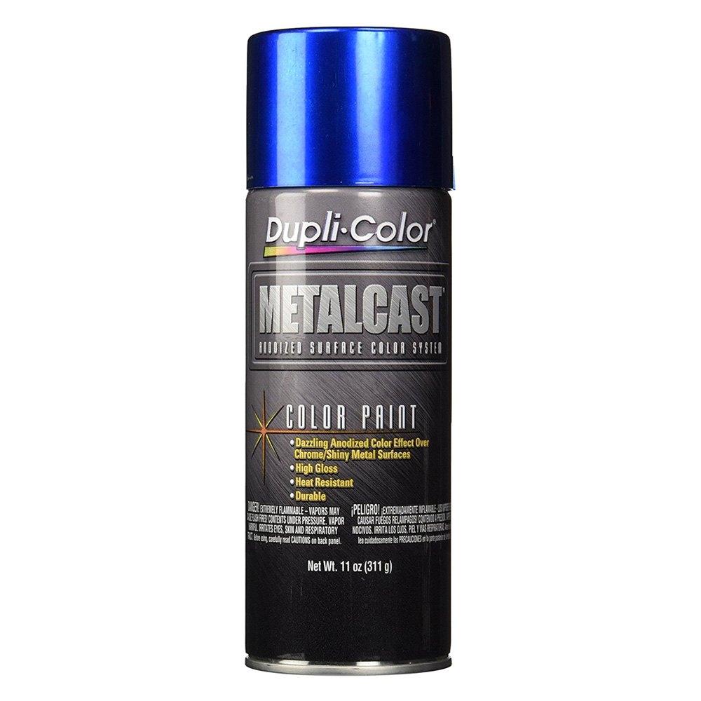 Dupli Color 174 Mc201 Metalcast 11 Oz Blue Anodized