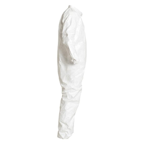 Dupont C11428802 Tyvek Isoclean Serged 4x Large White Cleanroom Coverall
