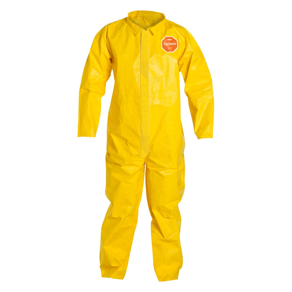 Dupont D13396530 Tychem 2000 2x Large Yellow Coverall