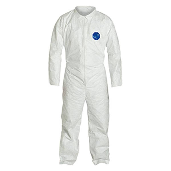 Dupont d13397940 tyvek 400 white coverall for Dupont exterior protection reviews