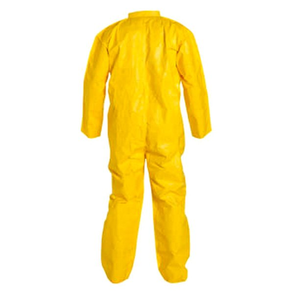 Dupont d13479158 tychem 2000 medium yellow coverall for Dupont exterior protection reviews