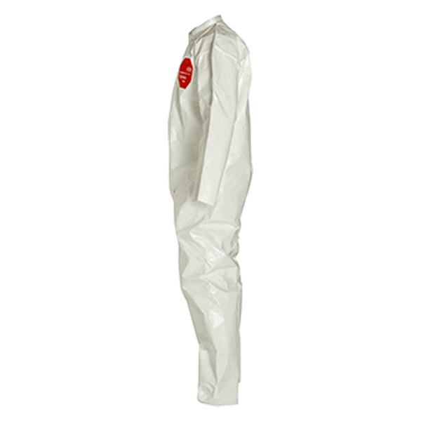 Dupont D13483842 Tychem 4000 Medium White Coverall