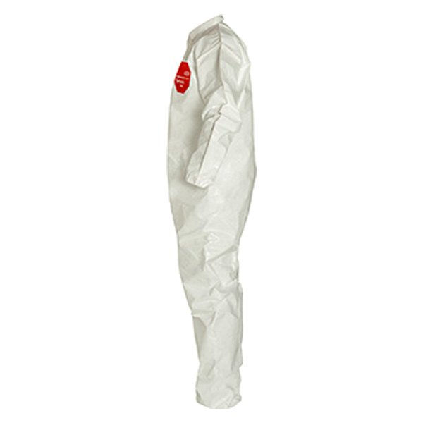 Dupont d13484761 tychem 4000 medium coverall for Dupont exterior protection reviews