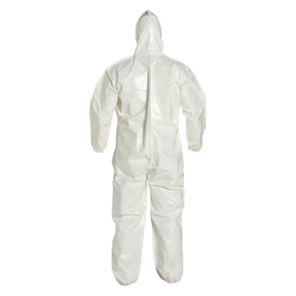 Dupont d13485094 tychem 4000 127 series x large white coverall for Dupont exterior protection reviews