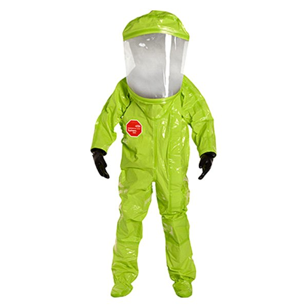 Dupont tychem 10000 lime yellow encapsulated level a suit for Dupont exterior protection reviews