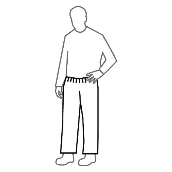 Dupont D13494443 Tyvek 400 6x Large White Pants