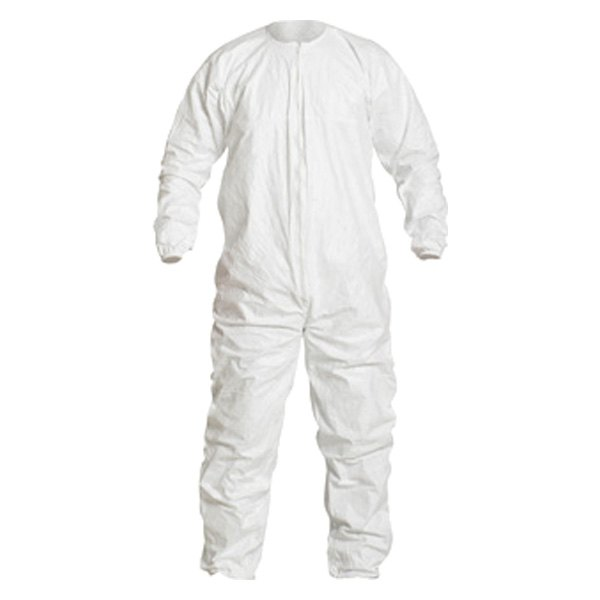 Dupont D14247440 Tyvek Isoclean 4x Large White Coverall