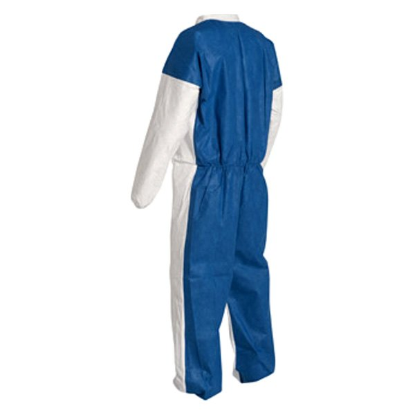 Dupont d14786701 tyvek 400 4x large dual collared disposable coverall for Dupont exterior protection reviews
