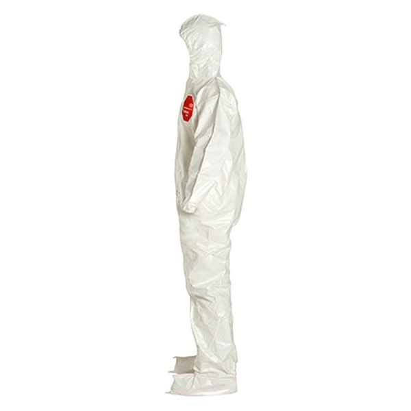 Dupont sl122bwh6x00 tychem 4000 122 series 6x large white coverall for Dupont exterior protection reviews
