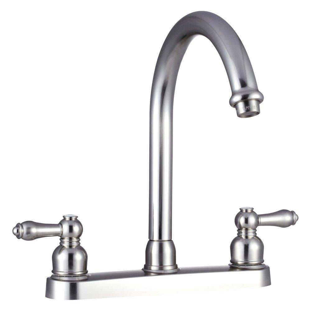Dura rv kitchen 11 1 2 hi rise spout faucet - Rv kitchen sink faucet ...