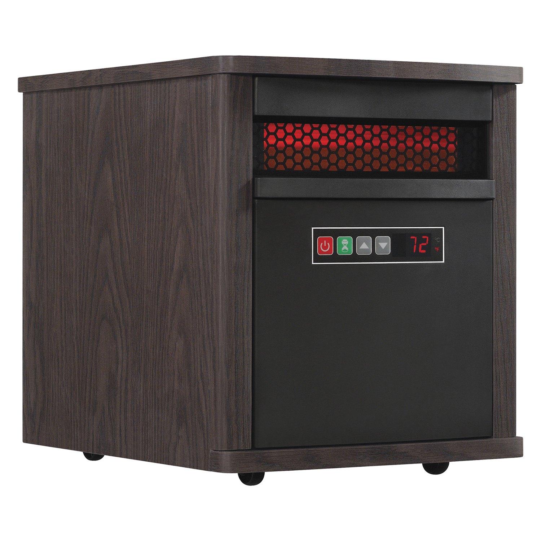 Duraflame portable electric infrared quartz heater for Small room quartz heater