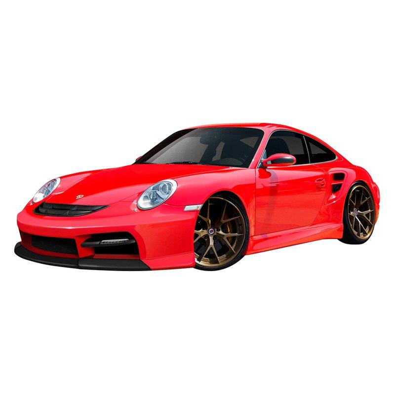 duraflex porsche 911 series 2007 2011 eros version 3 style body kit. Black Bedroom Furniture Sets. Home Design Ideas