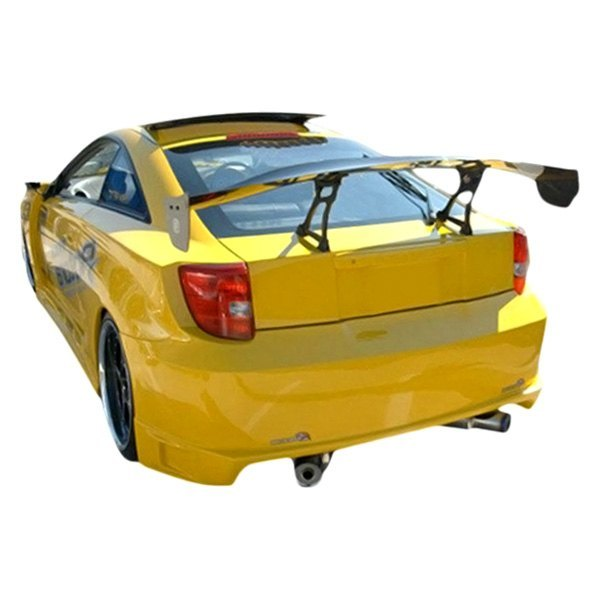 Toyota Celica 2000 3 5 Air Suspension Lowering Kit: Blits Style Fiberglass Rear Bumper