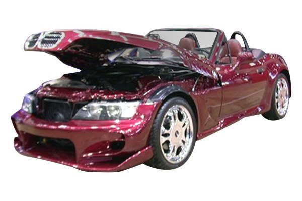 For BMW Z3 96-02 Duraflex Vader Style Fiberglass Front Bumper Cover Unpainted