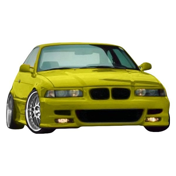 BMW 3-Series 1998 SR-S Style Fiberglass Front
