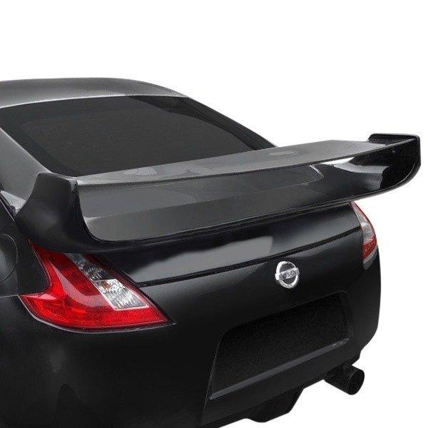 For Infiniti G35 2003-2007 Duraflex Vader Style Fiberglass Rear Wing Unpainted