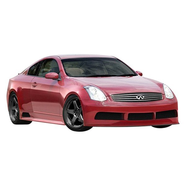 Chrysler 300 2006 Ground Effects Package: Infiniti G35 Coupe 2003 GT500 Style Fiberglass