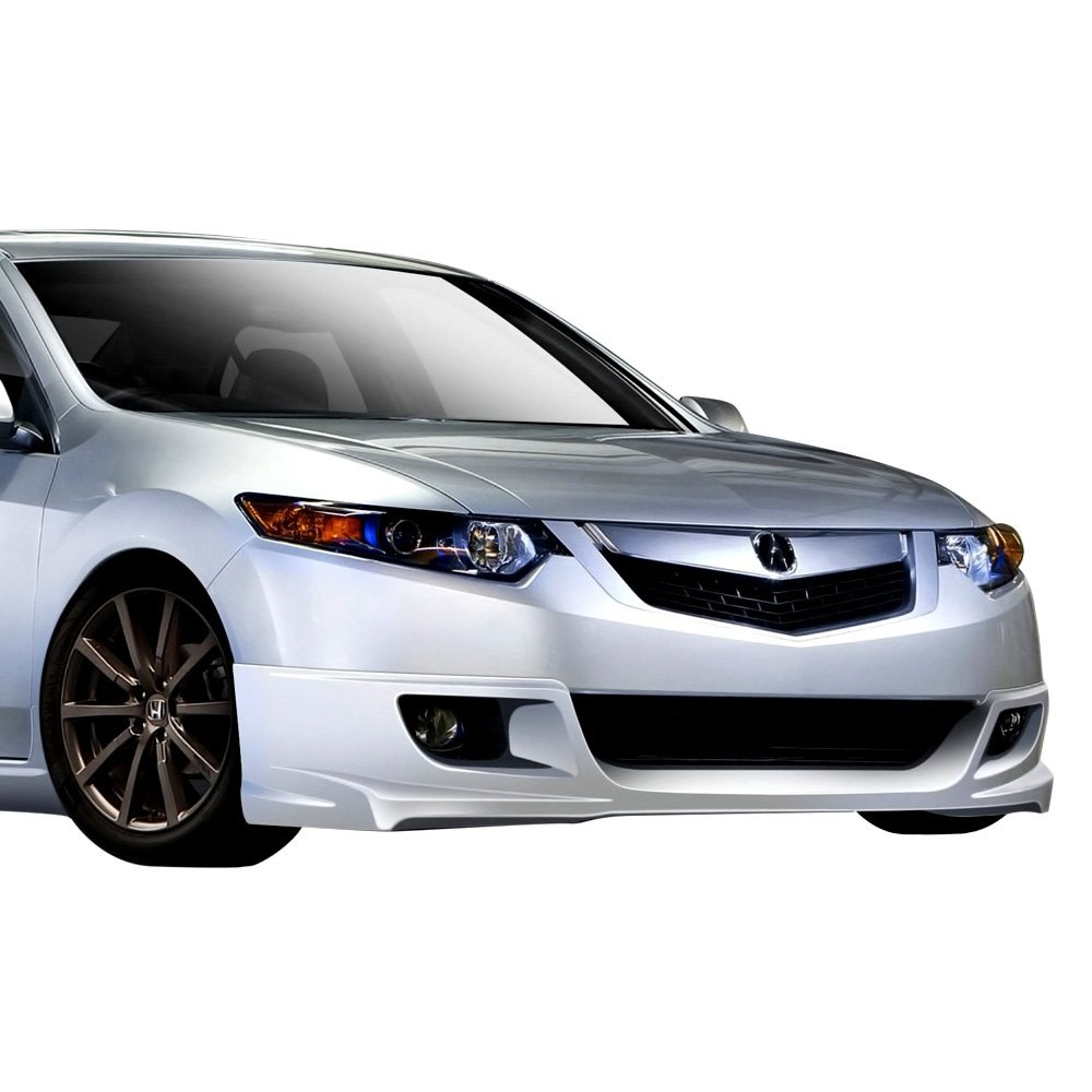 Duraflex Acura TSX Base Type M Style Fiberglass Front And - Acura tsx front lip