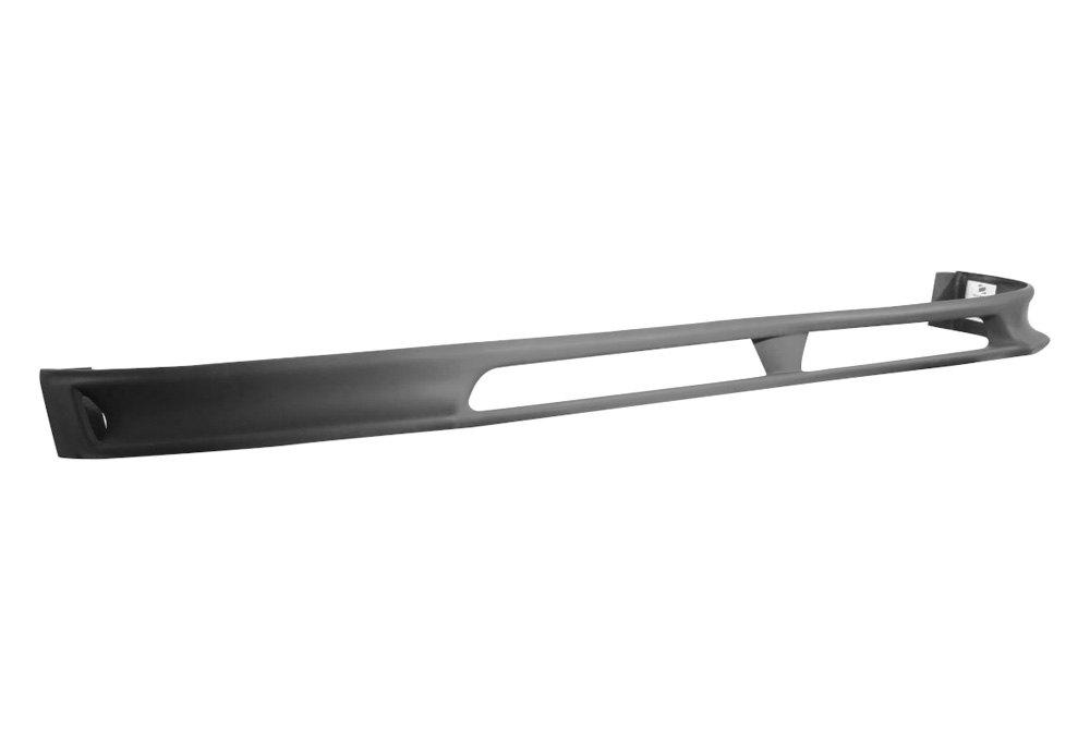 Duraflex® - Racer Style Fiberglass Front and Rear Bumper Lip Under Air Dam  Spoilers (Unpainted)