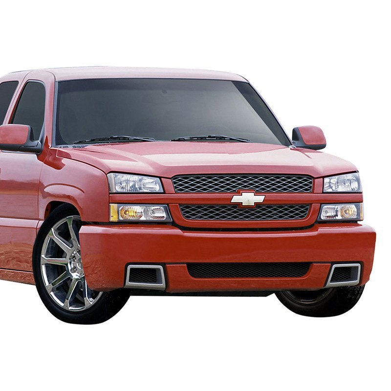 Details about For Chevy Silverado 1500 03-06 SS Style Fiberglass Front  Bumper Cover Unpainted