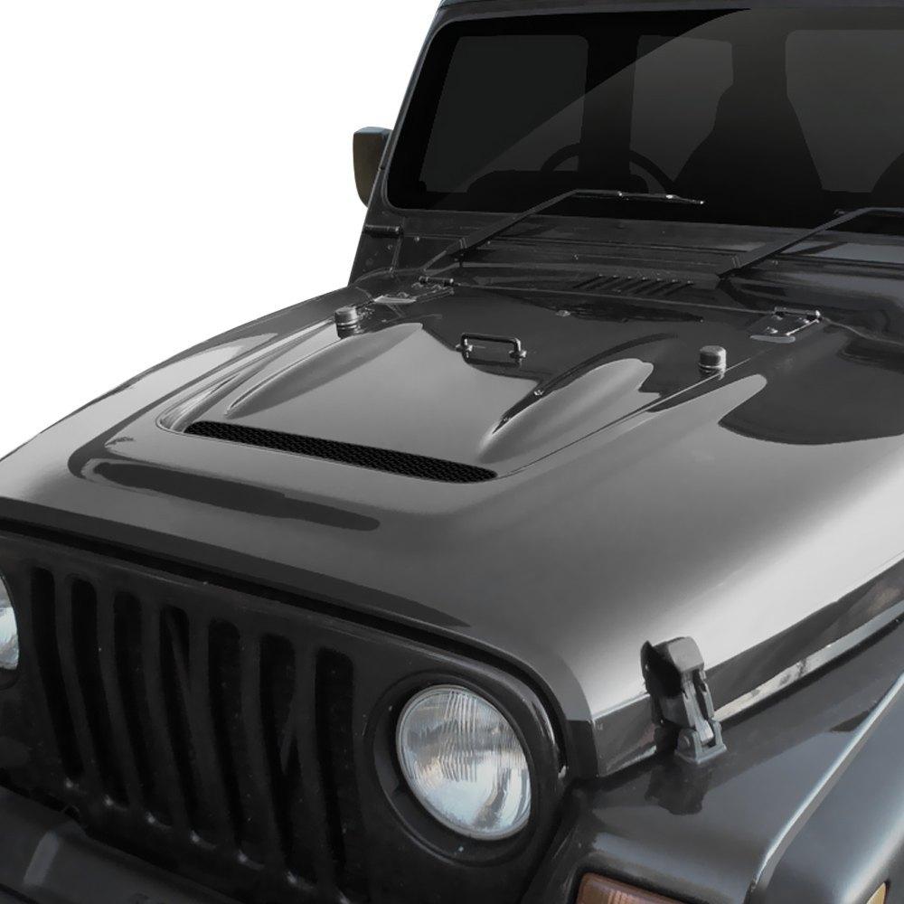 For Jeep Wrangler 97 06 Duraflex Heat Reduction Style
