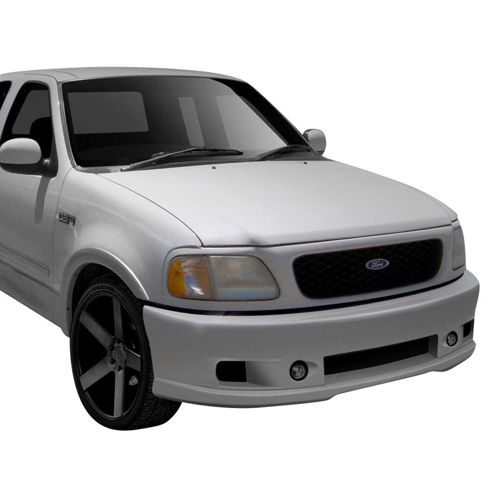 For Ford F-150 97-03 Cobra R Style Fiberglass Front Bumper Cover Unpainted
