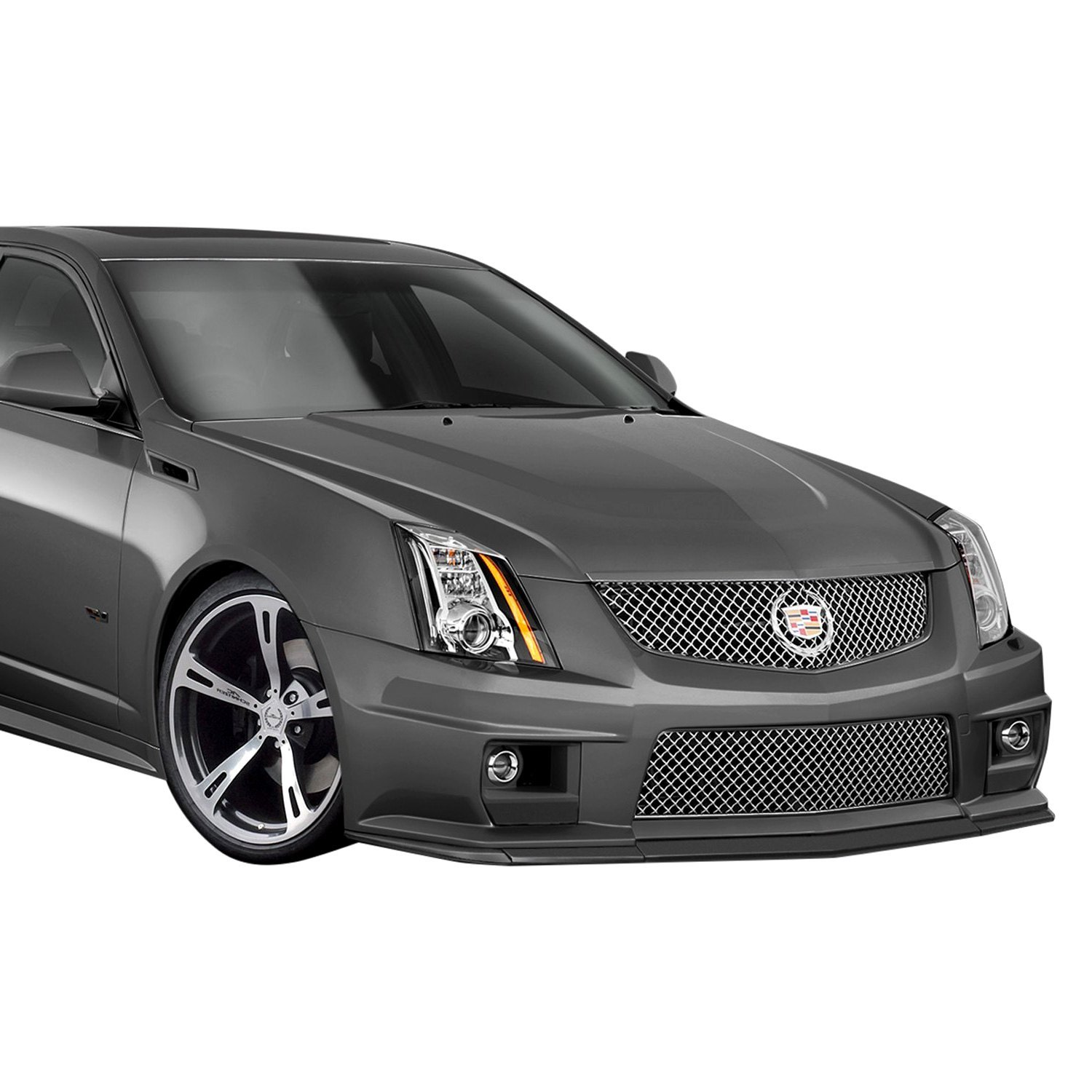 Cadillac Cts 2013 Price: For Cadillac CTS 2009-2013 Duraflex G2 Style Fiberglass Front Splitter Unpainted 6544839129258