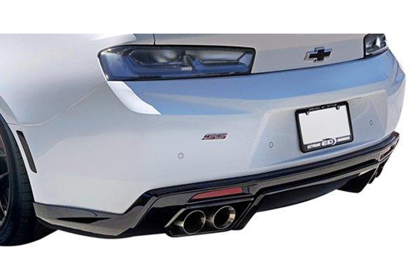 duraflex 113026 chevy camaro with quad exhaust 2017 gm x style fiberglass rear diffuser. Black Bedroom Furniture Sets. Home Design Ideas