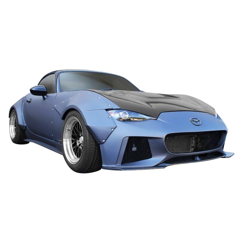 Duraflex® - Mazda Miata MX-5 2018 Circuit Style Fiberglass Wide Body Kit