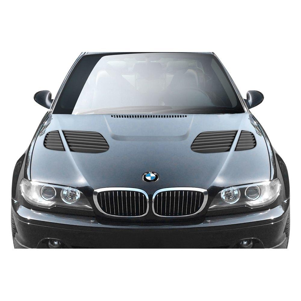 BMW 3-Series 2004 GTR Style Fiberglass Hood