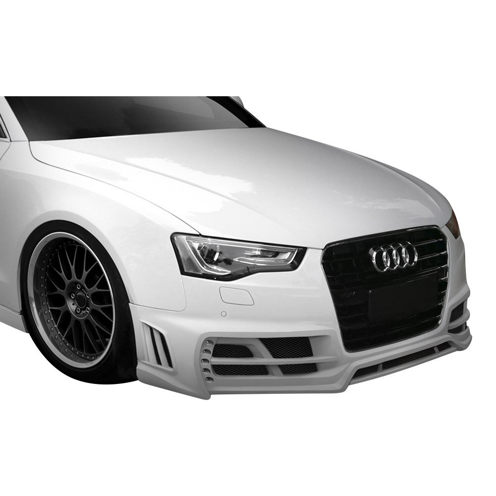 Audi A5 4 Doors 2013 TKR Style Fiberglass Bumpers