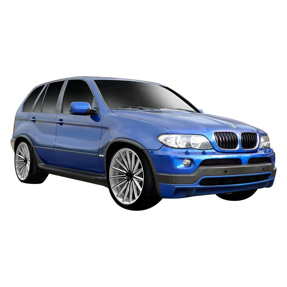 Bmw Xs5: BMW X5 2006 4.8is Style Fiberglass Body Kit