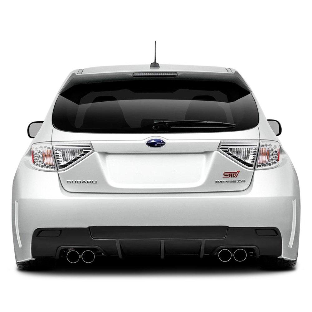 Duraflex Subaru Wrx 2013 Vrs Style Fiberglass Rear Bumper Cover