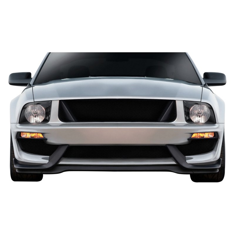 For Ford Mustang 05-09 GT Concept Style Fiberglass Front Fenders Unpainted