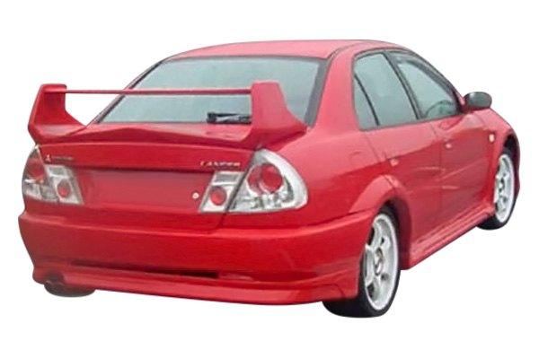 Duraflex mitsubishi mirage 1997 2000 evo 5 style for Garage mitsubishi valence