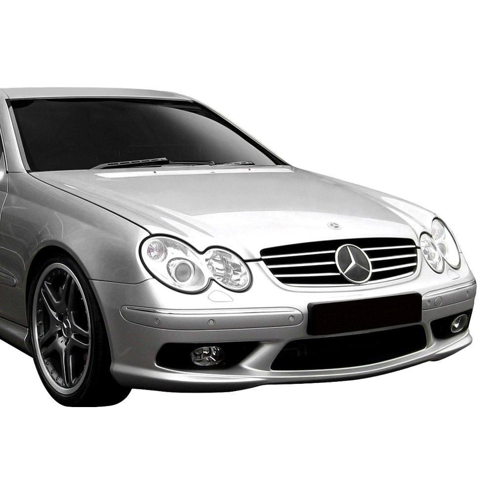 Duraflex mercedes clk500 w209 body code 2003 amg style for Mercedes benz bumper cover