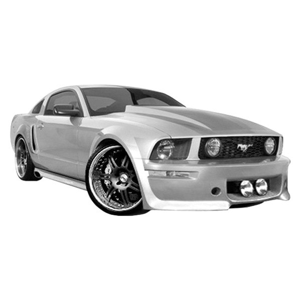 duraflex ford mustang base gt 2005 2009 eleanor style. Black Bedroom Furniture Sets. Home Design Ideas