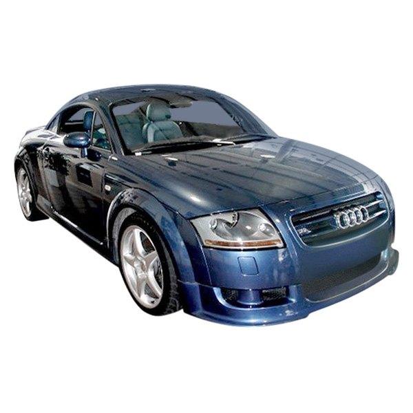 duraflex audi tt tt quattro base coupe roadster 2002 type a style fiberglass body kit. Black Bedroom Furniture Sets. Home Design Ideas