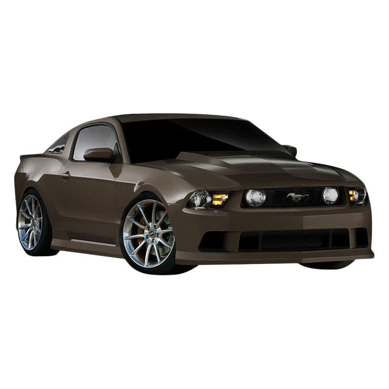 duraflex ford mustang base gt 2010 2011 circuit style. Black Bedroom Furniture Sets. Home Design Ideas