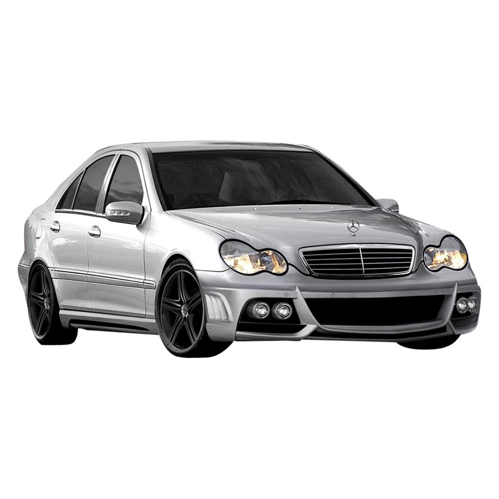 duraflex mercedes c230 c240 c320 w203 body code coupe sedan wagon 2003 amg v2 style. Black Bedroom Furniture Sets. Home Design Ideas