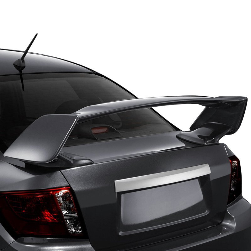 Subaru Impreza Unpainted Fiberglass Wing
