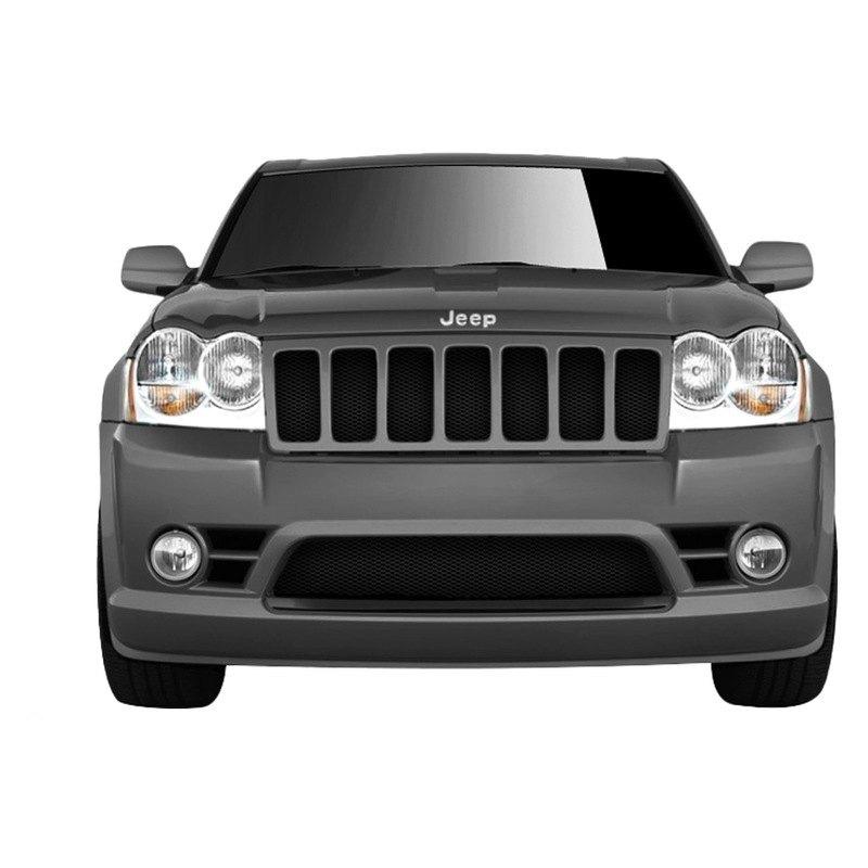 duraflex jeep grand cherokee laredo limited 2005 srt style fiberglass bumper covers. Black Bedroom Furniture Sets. Home Design Ideas