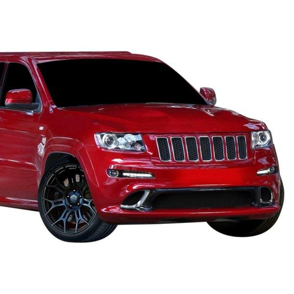 duraflex jeep grand cherokee 2011 srt style fiberglass body kit. Black Bedroom Furniture Sets. Home Design Ideas