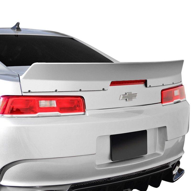 Gt500 V3 Style Fibergl Rear Lip Trunk Lid Spoiler Unpainted Duraflex Zl1 Eros Version 3