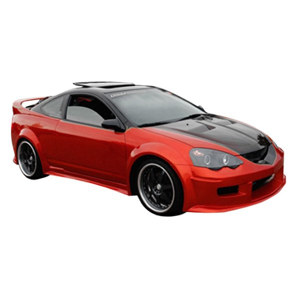 duraflex acura rsx 2002 2004 gt300 style fiberglass. Black Bedroom Furniture Sets. Home Design Ideas