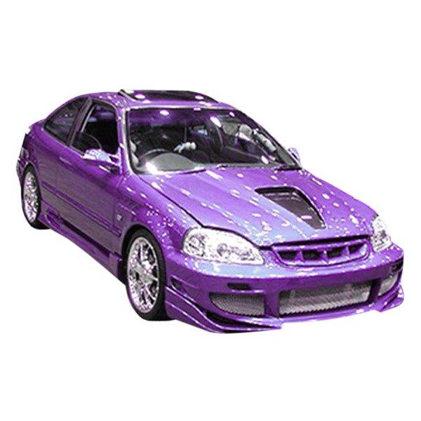 Honda Civic 1998 AVG Style Fiberglass Body Kit